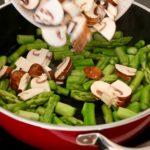 veganes Gericht - Pilze